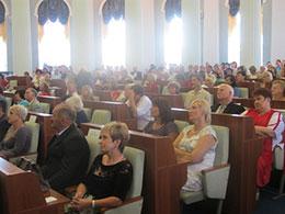 Голова районної ради взяв участь в обласній конференції педагогічних працівників