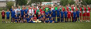 Футбольна команда з Черкаського р-ну